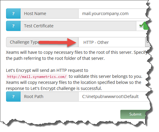 Troubleshooting Let's Encrypt validation problem with IIS server